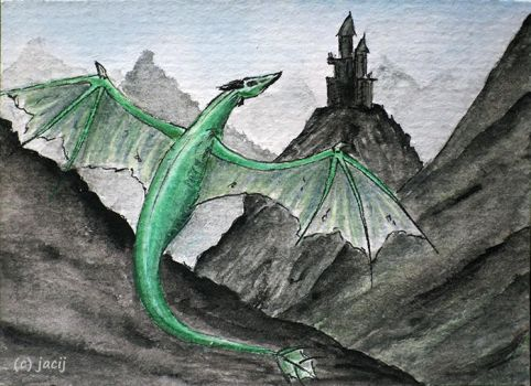 On The Wing ACEO by jacij
