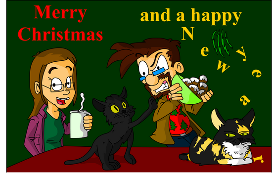 Merry Christmas! 2016 ( Collab ) by DoubleSNL