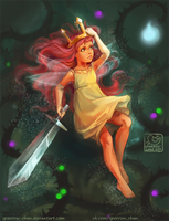 Aurora: child of light by sparrow-chan