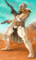 Benji the Sandtrooper of Sorts by blotchy-the-squid