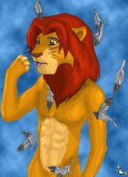 Simba Anthro by burntumber