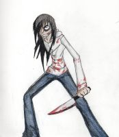 Jeff the Killer by animedemon77