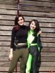 Shego and Kim III by VaguePurple