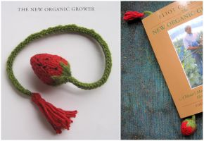 Strawberry Bookmark by paganites