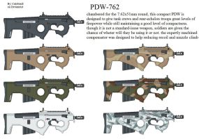 PDW-762 by caiobrazil