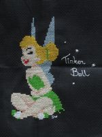 Tinker Bell cross stitch by Santian69