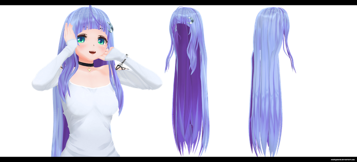 Long hair by kaahgomedl