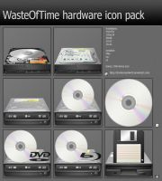 WasteOfTime hardware icon pack by DrunkenSandwich