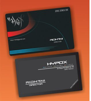my business card by ridhani55