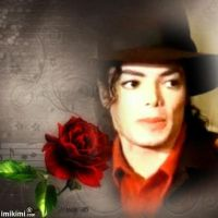 A red rose for Michael. by BlueRosePetalsQueen