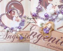 bracelet Rapunzel by AngeniaC
