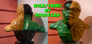 Hulk Thing 1 by howardhowitzer