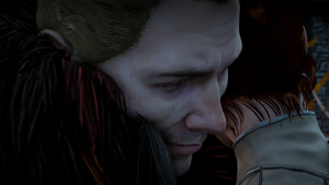DA:I Cullen and Elisa by Tylmare