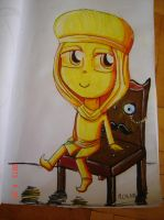 Stephano and mr Chair by Bawaria