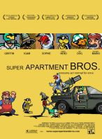 Super Apartment Bros, Little Miss Sunshine Poster by SuperApartmentBros