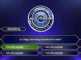 Millionaire 2010 MathSolving A by Randydorney