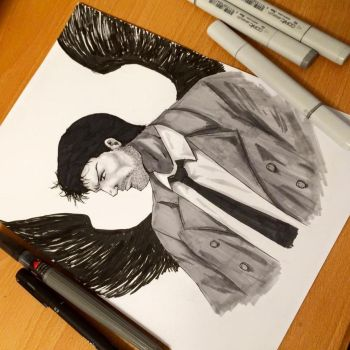 Castiel from Supernatural by krnozine