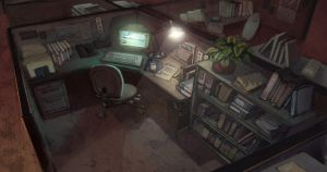 Office Cubicle by Rusty001
