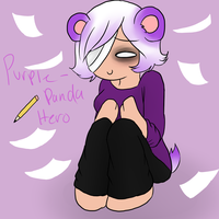 Purple Panda Persona by Purple-PandaHero