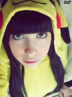 Cosplay Pikachu 3 by SaFHina