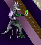 Gift: The worst sort of green fairy by Crystal-WolfDarkness