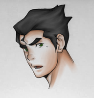 Sexy Bolin: Lines property of Nick by BurningArtist