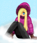 Snow is fun by fluffy92903