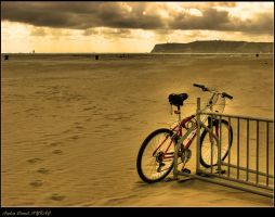 Coronado Beach by WhiteWay