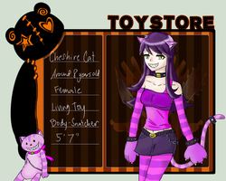 Toy Store - Cheshire Cat by mia826