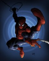 spider-man by uncle wya by shalomone