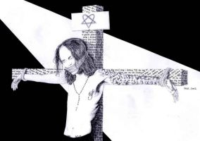 Crucified by ihni