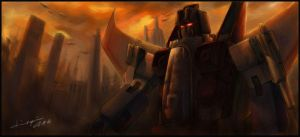 Starscream by Seventing
