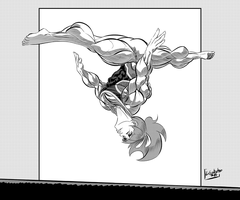 Gymnast by Lord-Eustache