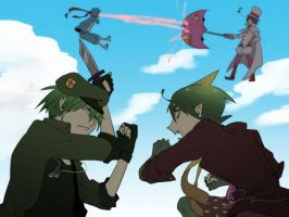The Happy Birthday Vs Ao No Exorcist by Marshall-Lee19