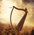 Harp Song by SpaceDynArtwork