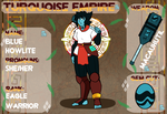 Turquoise Empire App - BlueHowlite by SummaBadger