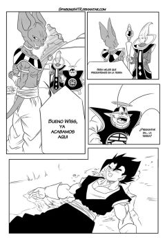 Beyond Dragon Ball - Capitulo 2 Pagina 30 by SparkingMtr