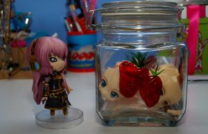 Jar of Nendoroid by knittedsocks