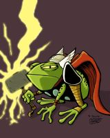 Frog Thor colored by SethWolfshorndl
