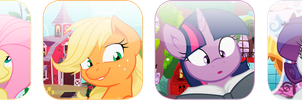 MLP DA Icons by InternationalTCK