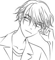 Tamaki Suou : Lineart by rock-stare