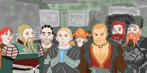 Dragon Age, Dwarfs by Danmaro