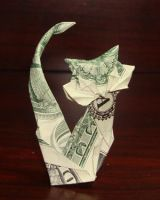 Dollar cat by Lenalis