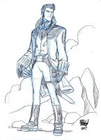 BUCK ROGERS by Wieringo