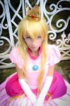 Princess Peach Cosplay - Super Mario Bros by MishiroMirage