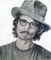 Johnny Depp by lenaleigh