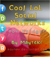 Cool LoL Social Networks for XWidget by MayteKr