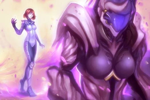 Special Link - [Warframe Codex Art Contest 3.0] by IMadeTeguh