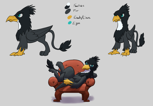 [Commission] Aldric Reference by TheAndyMac
