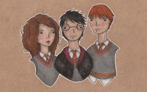 the golden trio by Endofmarch